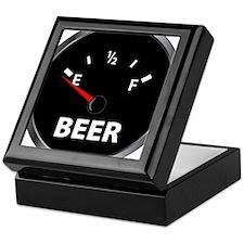 Out of Beer Keepsake Box