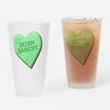 SWEETHEARTiRISHdANCER Drinking Glass
