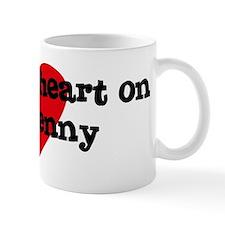 Heart on for Jenny Mug