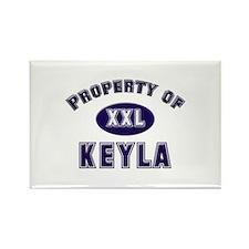 Property of keyla Rectangle Magnet