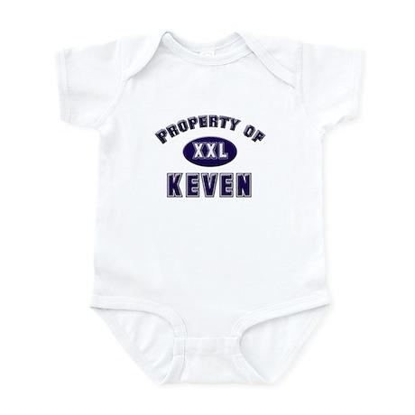Property of keven Infant Bodysuit