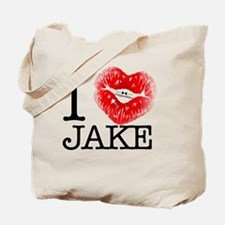I_HEART_JAKE Tote Bag