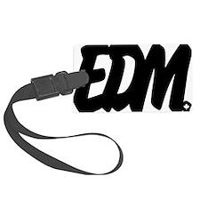 EDM Brushed W Luggage Tag