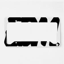 EDM Brushed W License Plate Holder