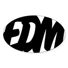 EDM Brushed W Decal