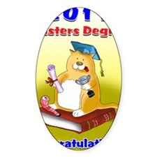 masters degree 2011 Decal