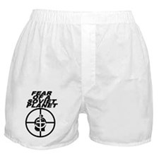 Fear Of A Soviet Planet Boxer Shorts