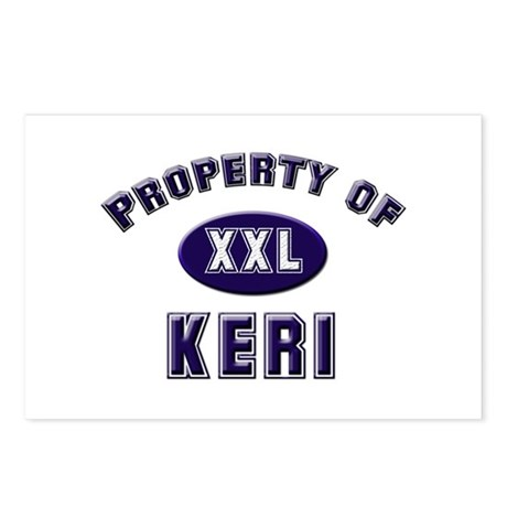 Property of keri Postcards (Package of 8)