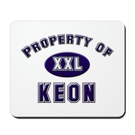 Property of keon Mousepad