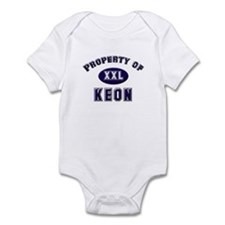 Property of keon Infant Bodysuit