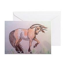 UnicornofaDifferentColor1 Greeting Card