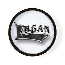 Cute Logan Wall Clock