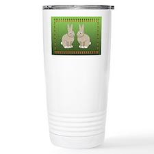 rabbits 6x4_pcard copy Travel Mug