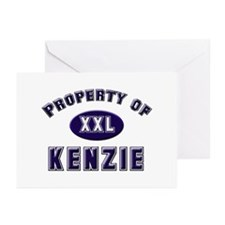 Property of kenzie Greeting Cards (Pk of 10)