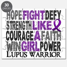 Fight Like A Girl Lupus 23.4 Puzzle