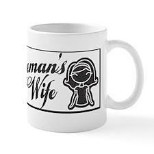 linemans wife bumper sticker Mug