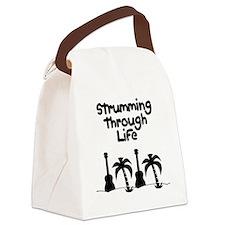 ukulele uke ukelele ukester Canvas Lunch Bag