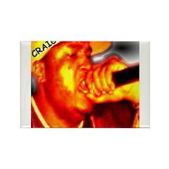 CRAIG G Rectangle Magnet (100 pack)