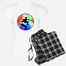 skater tie-dye Pajamas