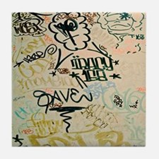 NYC Graffiti Tile Coaster