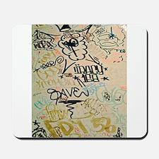 NYC Graffiti Mousepad