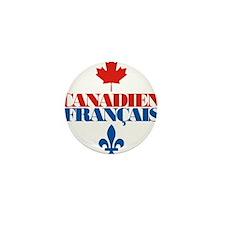 Canadien Francais 5 Mini Button