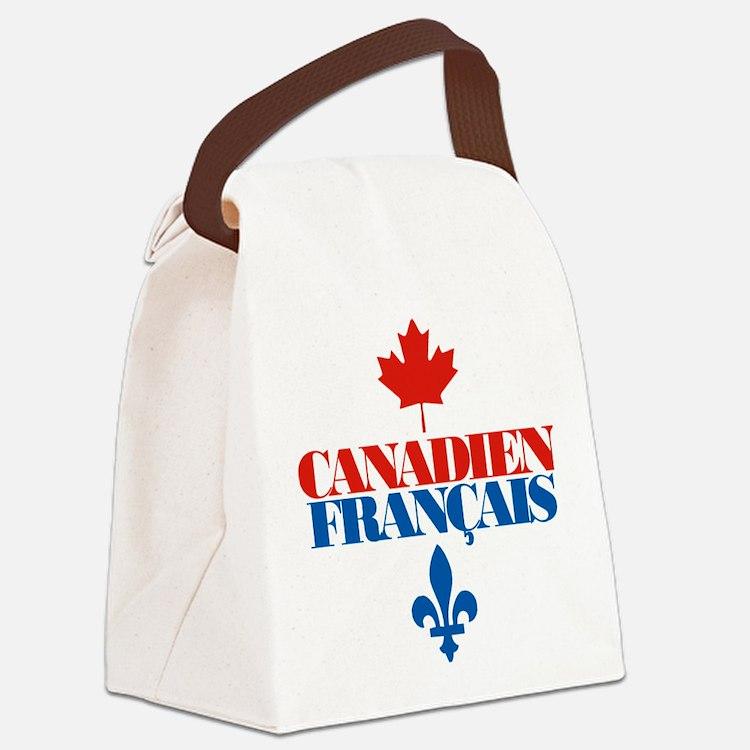 Canadien Francais 5 Canvas Lunch Bag