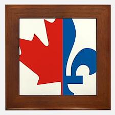 Maple-Fleur Framed Tile