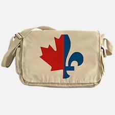 Maple-Fleur Messenger Bag