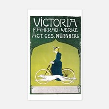 Vintage Art Nouveau Poster Decal
