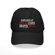 Employed at Sterling Cooper DARK Baseball Hat