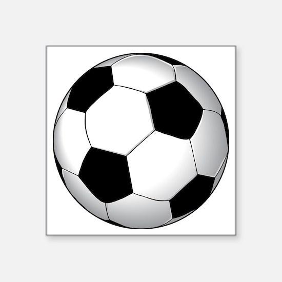 """soccer01 Square Sticker 3"""" x 3"""""""
