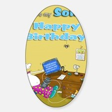 mouse trouble,happy birthday son 2 Decal