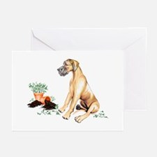 Fawn UC Naughty Pup Greeting Cards (Pk of 10)