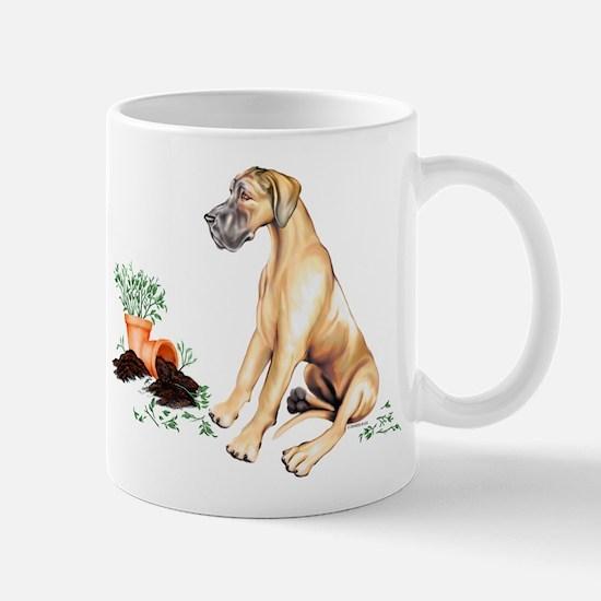 Fawn UC Naughty Pup Mug