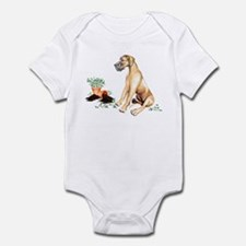Fawn UC Naughty Pup Infant Bodysuit
