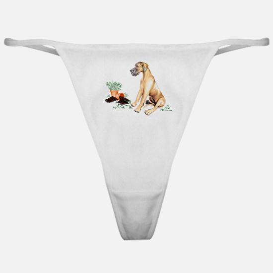 Fawn UC Naughty Pup Classic Thong