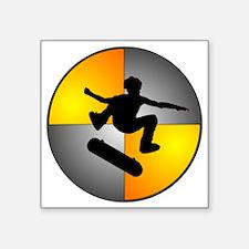 "skater_nuke_lrg Square Sticker 3"" x 3"""