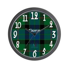 Gunn Clan Wall Clock