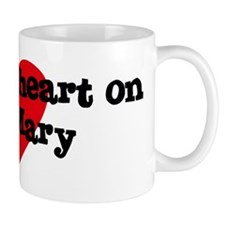 Heart on for Mary Mug