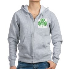 Celtic_Knot_Clover_Tattoo_by_ka Zip Hoodie