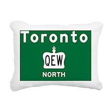 Toronto Qew Rec Mag Rectangular Canvas Pillow
