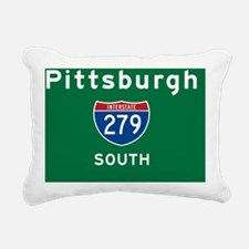 Pittsburgh 279 Rec Mag Rectangular Canvas Pillow