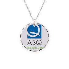 ASQ Logo 4C tag g-med Necklace