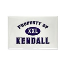 Property of kendall Rectangle Magnet