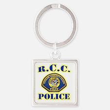 rcc Square Keychain