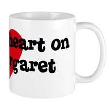 Heart on for Margaret Mug