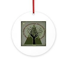 Tree Ecology Round Ornament