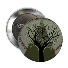 """Tree Ecology 2.25"""" Button"""