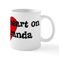 Heart on for Maranda Mug